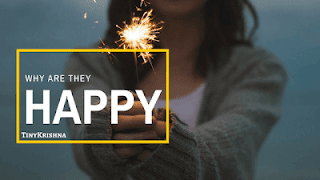 why happy people are happy.
