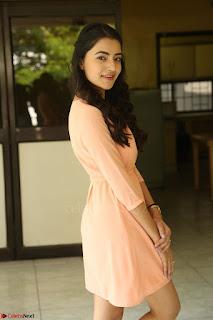 Rukshar Mir in a Peachy Deep Neck Short Dress 124.JPG