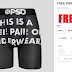 EXPIRED! Free Pair of PSD Underwear