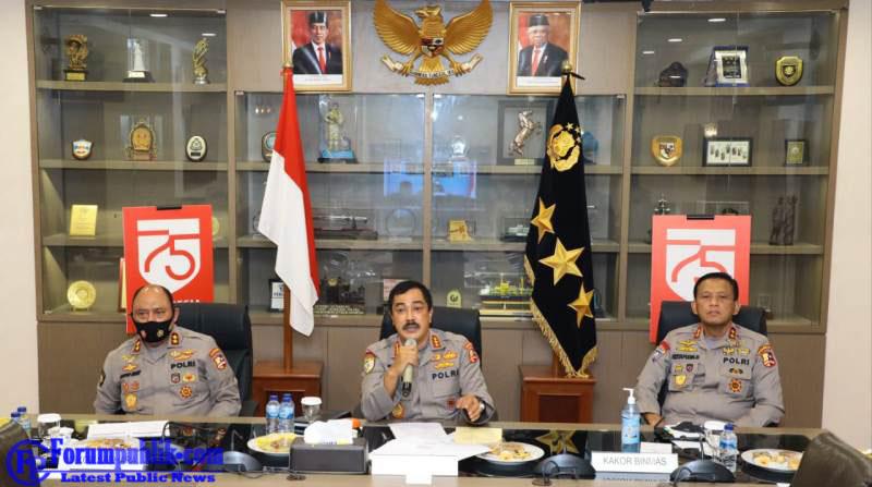 Bahas Tugas Rutin Kepolisian Masa Pandemi, Ombudsman Zoom Meeting Bersama Kabaharkam Polri dan Kasatgas Covid-19