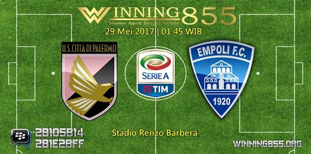 Prediksi Skor Palermo vs Empoli 29 Mei 2017