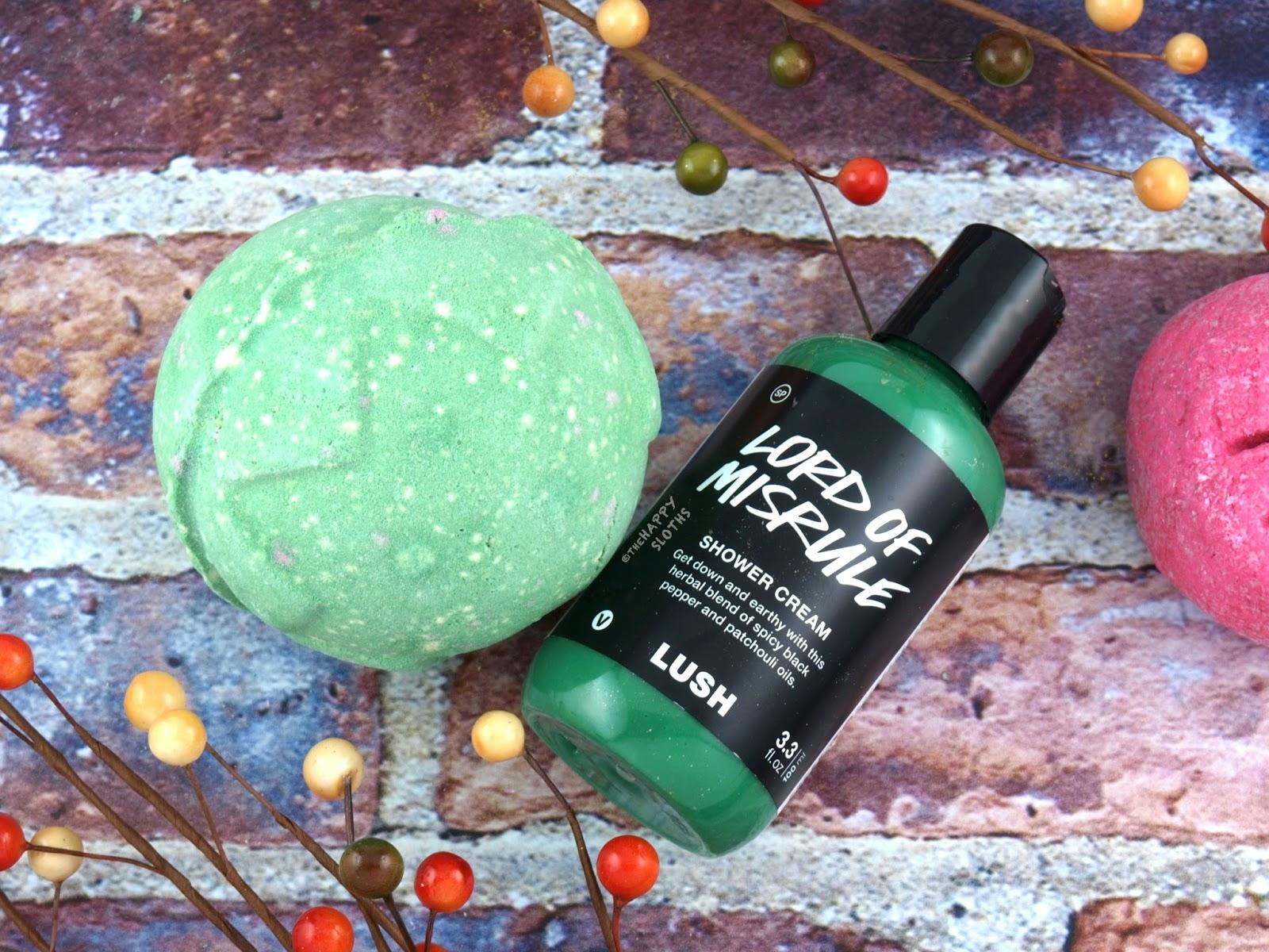 Lush Halloween 2017 Gift Guide: Lord of Misrule Bath Bomb & Shower Gel