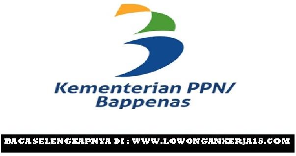 Lowongan Kerja Kementerian PPN / Bappenas Oktober 2019