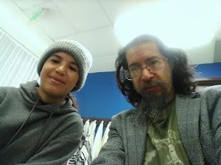 Ahgamen keyboa_ with Shylah at private Jewish school
