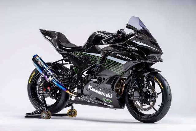 Modifikasi Kawasaki ZX25R Siap Balap