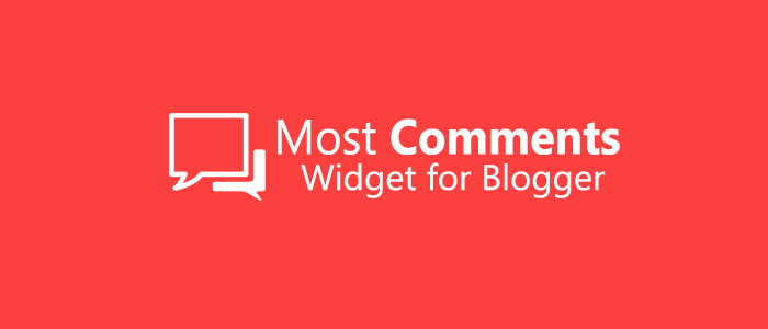 Blogger Most Commented Widget with Awesome Look