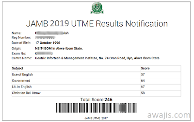 Check JAMB Results Online: Using JAMB Registration Number - Do-It-Yourself