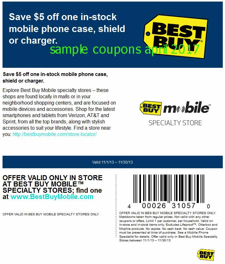 Printable Coupons 2018 Best Buy Coupons
