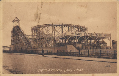 Figure 8 Railway, Barry Island. Posted 24 August 1915