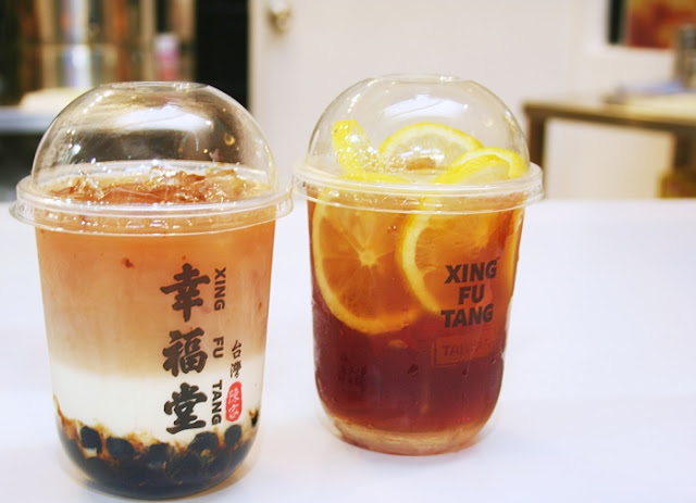 Xing Fu Tang Lemon Black Tea and Lemon Green Te