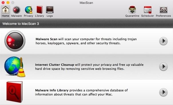 MacScan 3: Segurança, privacidade e anti-malware