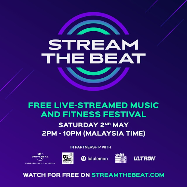 Stream The Beat, Free Live-Streamed, Music Fitness Festival, Raising Funds Food Banks, Fitness, Online Event, Live Stream