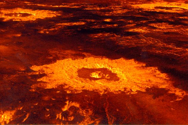 Las condiciones en Venus son inhóspitas