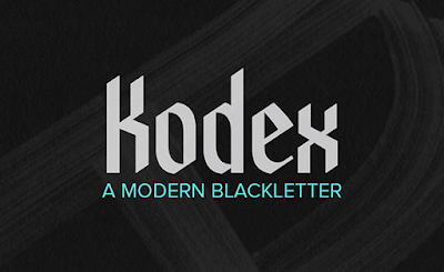 Kodex-Parallel-Pen-Font