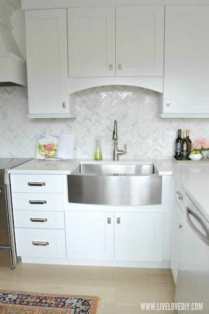 kitchen makeover quartz countertops