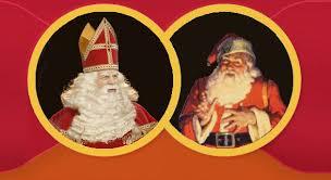 Sinterklaas en de kerstman