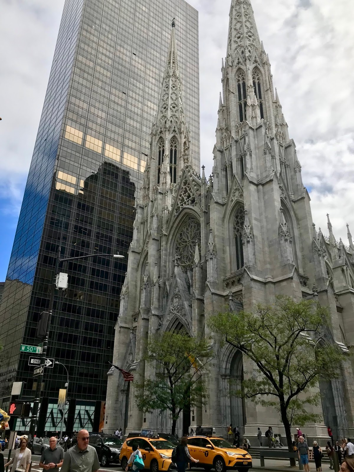 St Patrick's Cathedral, New York - Maggie May