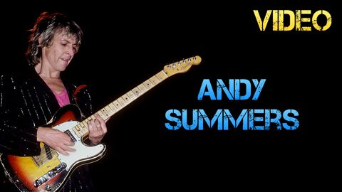 Biografía y Equipo de Andy Summers