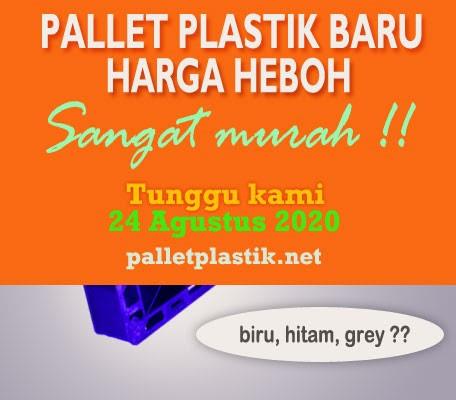 promo pallet plastik murah