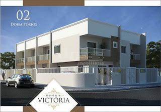 ref: 1011 - Res. Victória - Sobrados com 2 dormitórios - Bairro Morretes - Itapema/SC