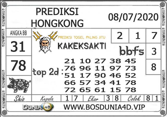 Prediksi Togel HONGKONG DUNIA4D 08 JULI 2020