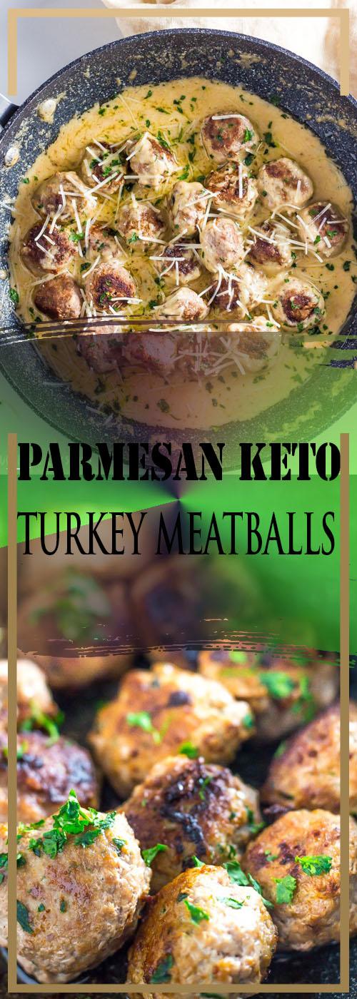 PARMESAN KETO TURKEY MEATBALLS RECIPE