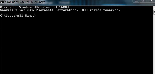 use cmd to delete folder