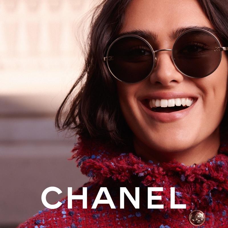 Jill Kortleve fronts Chanel Eyewear 2021 campaign