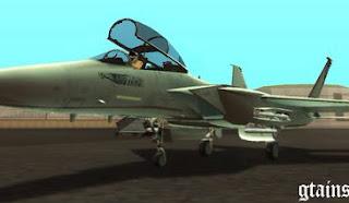 Free Download MOD Grand Theft Auto: San Andreas F-15 Silent Eagle