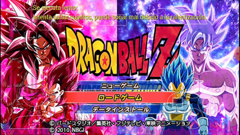 SDBH Supersonic Warriors DBZ TTT MOD With Permanent Menu Download