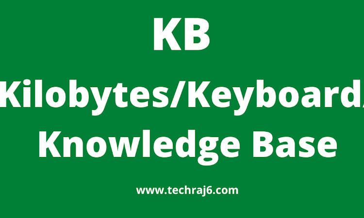 KB full form, what is the full form of KB