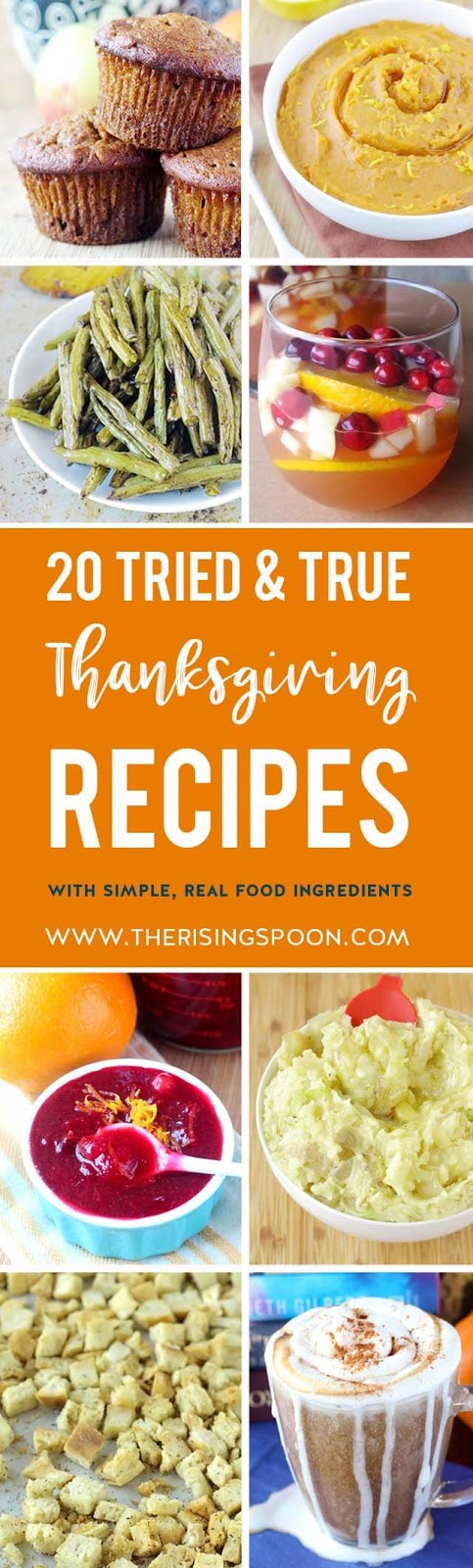 Want to serve the best recipes at your Thanksgiving meal? These are some of my tried-and-true dishes that I've been fixing for the past few years. My family loves them and I hope yours will, too!