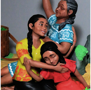 Femmes Sri Lankaises - Franko Vega de Figuritas CreaTTack