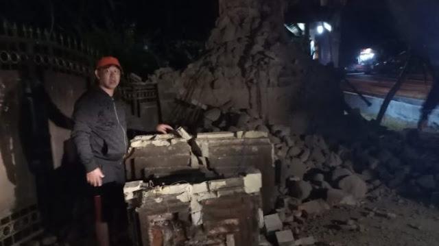 Sumenep Daerah Paling Parah Kena Dampak Gempa Magnitudo 6,4 yang Guncang Jawa Timur