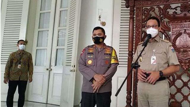 Diterapkan Mulai Hari Ini, Berikut Aturan Pembatasan Kegiatan di Jakarta