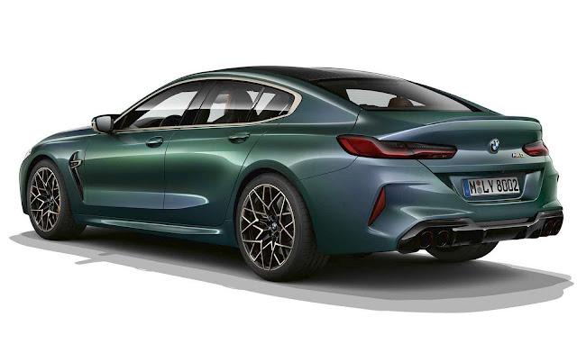 BMW 8 Gran Coupé Competition First Edition é confirmado para o Brasil