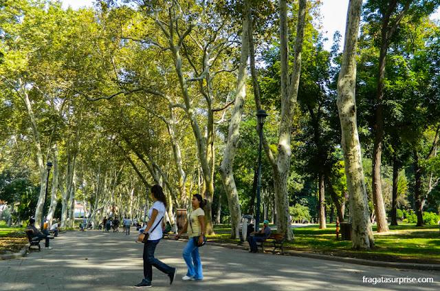 Parque Gülhane, Istambul