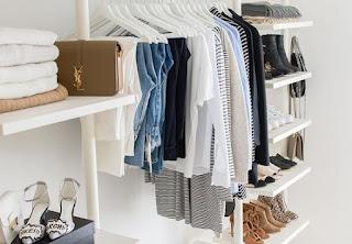 Imagem ilustrativa de um closet