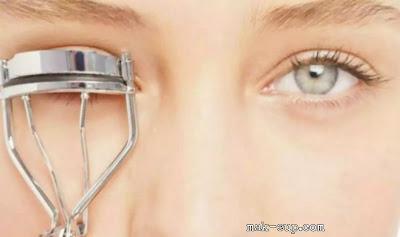 حيل مكياج عيون بصور