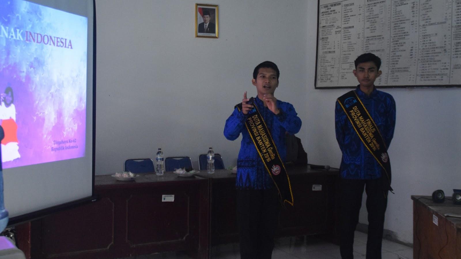Kegiatan ini merupakan kegiatan yang di laksanakan oleh KKM Mandiri UNTIRTA di Kampung Domba Juhut