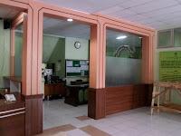 Sekat Kantor Triplek HPL furniture semarang