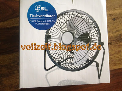 metall table fan