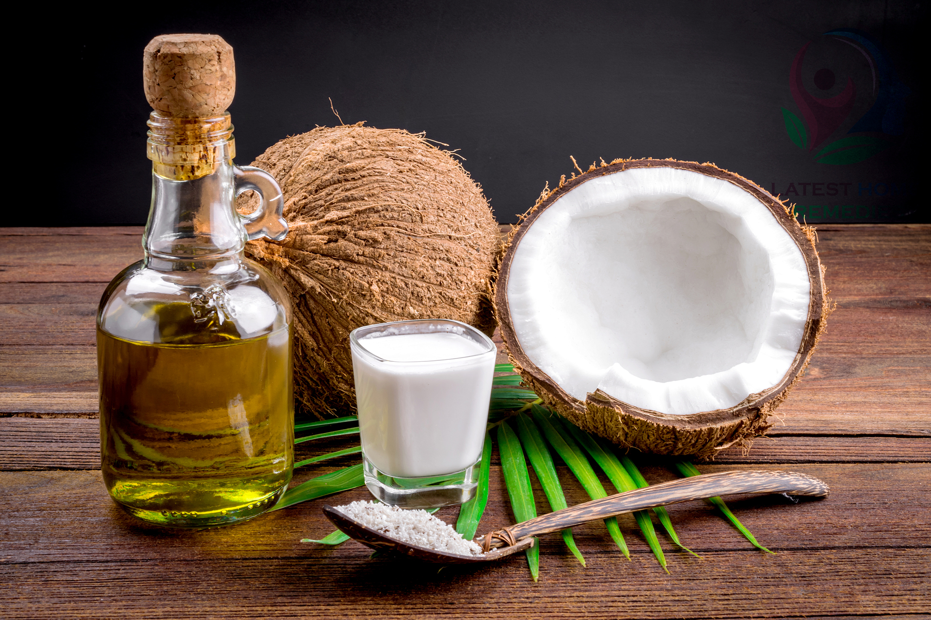 Coconut milk and oil
