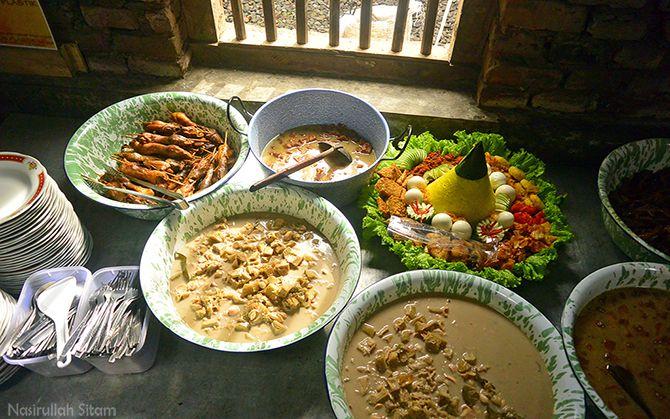 Lodeh, Ceker, dan menu lainnya