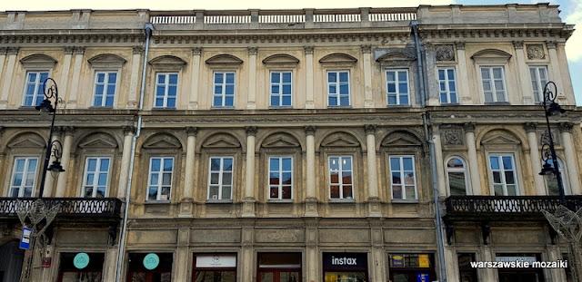 Warszawa Warsaw kamienica Henryk Marconi architektura warszawskie kamienice