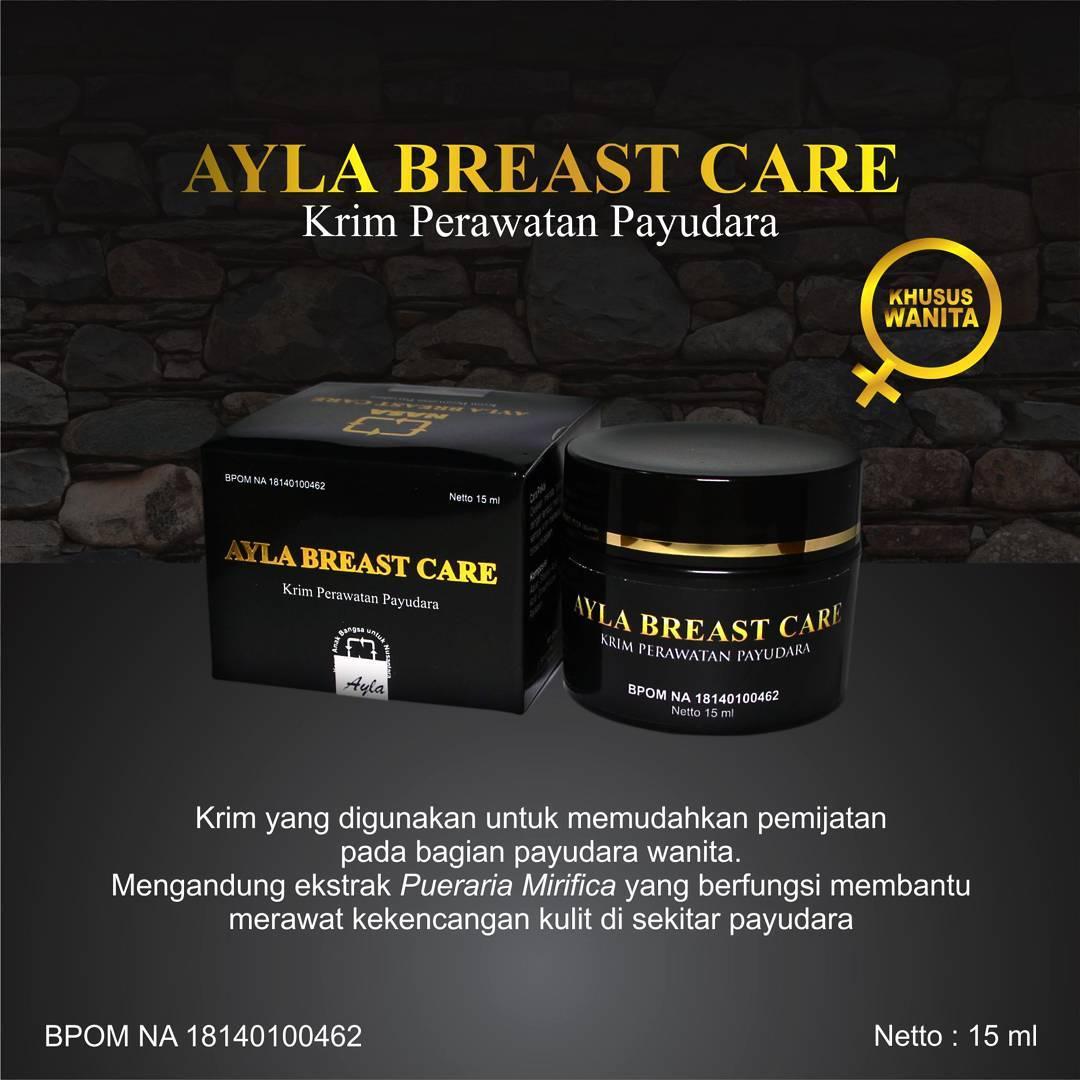 Ayla Breast Care, Krim Perawatan Payudara Alami