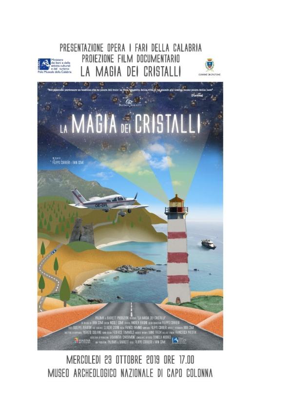 """Ai Musei di Crotone e Reggio Calabria, il docufilm """"La magia dei cristalli"""""""