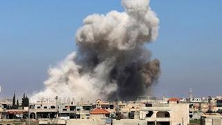 50.000 Warga Selatan Deraa Mengungsi Hindari Serangan Brutal Rezim Syiah Suriah