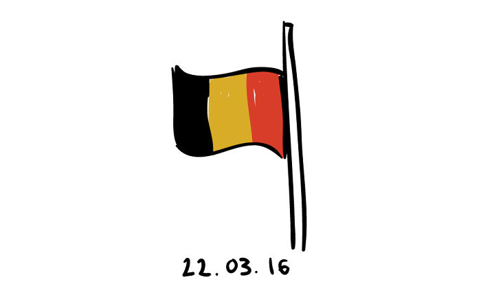 #PrayForBrussels Let's Show The World That We Are UNITED! - #26 Half Mast
