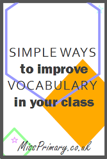 improve vocabulary in school